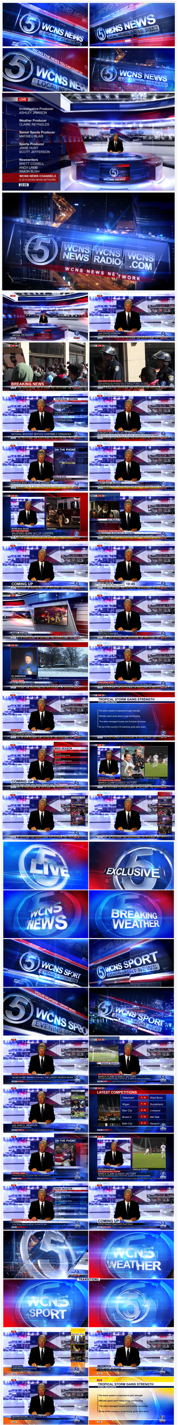 Broadcast Design - Complete News Package 5 - 5